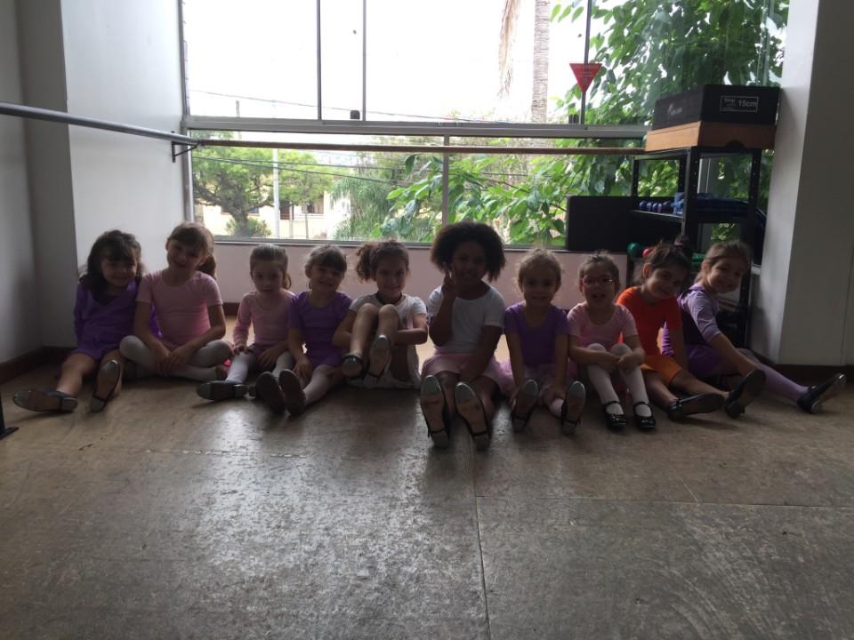 Aula de Sapateado da Pré-Dança