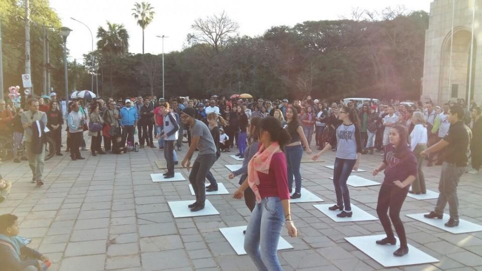 Flashmob na Redenção